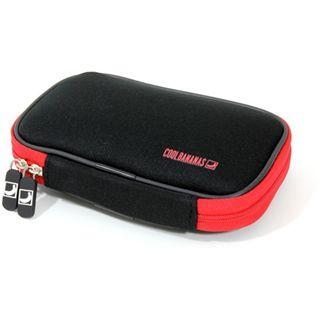 """CoolBananas ShockProof Schwarz/Rot Tasche für 2,5"""" Festplatten (9042424)"""