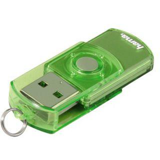 """4 GB Hama FlashPen """"Elatio"""" gruen USB 2.0"""