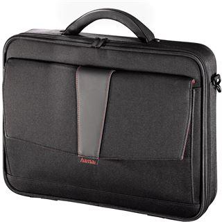 Hama Notebook-Tasche Atlanta, Displaygrößen bis 44 cm (17,3), Schwarz