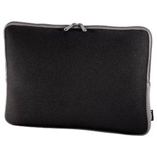 Hama Netbook-Sleeve Neoprene, Displaygrößen bis 30 cm (11,6), Schwarz/Grau
