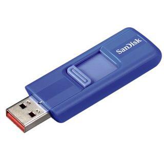 8 GB SanDisk Cruzer blau USB 2.0