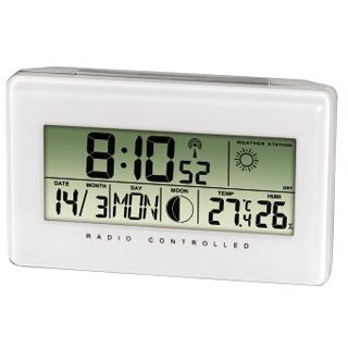Hama Thermo-/Hygrometer TH500, Weiß
