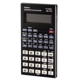 Hama Taschenrechner Scientific WB 110D