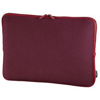 Hama Notebook-Sleeve Neoprene, Displaygrößen bis 44 cm (17,3), Bordeaux/Rot