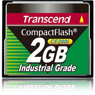 2 GB Transcend Industrial Ultra Compact Flash TypI 200x Retail