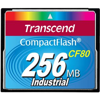 256 MB Transcend Ultra Compact Flash TypI 80x Retail