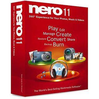 Nero Nero 11 32/64 Bit Multilingual Brennprogramm Vollversion PC (DVD)
