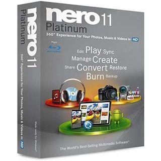 Platinum Nero 11.0 Platinum 32/64 Bit Multilingual Brennprogramm FPP PC (CD)