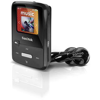 4GB SanDisk Sansa MP3 Clip Zip Black 4GB (SDMX22-004G-E46K) reta