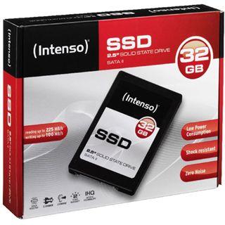 "32GB Intenso SSD 2.5"" (6.4cm) SATA 3Gb/s MLC asynchron (3810410)"