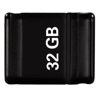 """32 GB Hama FlashPen """"Smartly"""" Car Hifi schwarz USB 2.0"""
