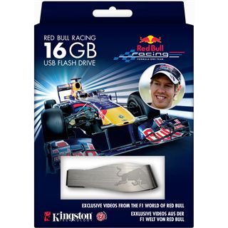 16 GB Kingston Red Bull silber USB 2.0