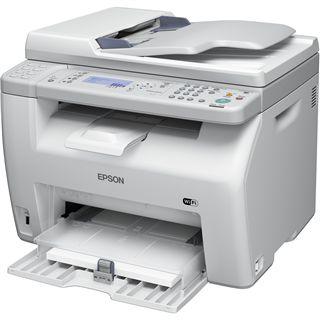 Epson AcuLaser CX17WF Farblaser Drucken/Scannen/Kopieren/Faxen LAN/USB 2.0
