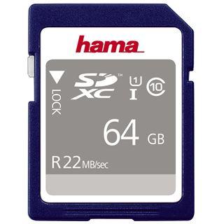 64 GB Hama Standard SDXC Class 10 Retail