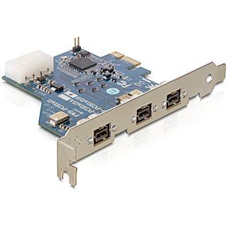 Delock 61643 3 Port PCIe x1 retail