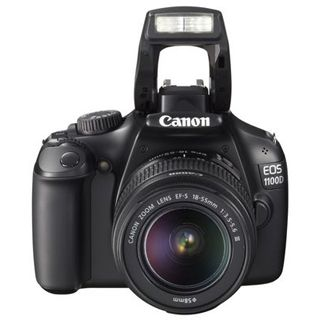 Canon EOS 1100D Kit inklusive EF-S 18-55 mm f/3.5-5.6 IS + EF 75-300 mm f/4-5-6 III