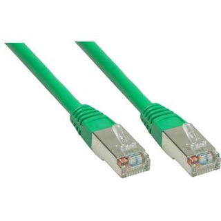 60.00m Good Connections Cat. 6 Patchkabel S/FTP PiMF RJ45 Stecker auf RJ45 Stecker Grün