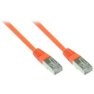 90.00m Good Connections Cat. 6 Patchkabel S/FTP PiMF RJ45 Stecker auf RJ45 Stecker Orange