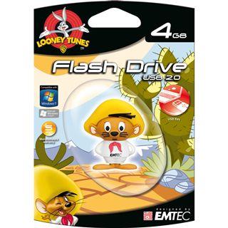4 GB EMTEC Loony Tunes Range Speedy Gonzales USB 2.0