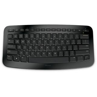 Microsoft Arc Keyboard 2.4 GHz Englisch schwarz (kabellos)