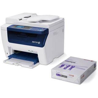 Xerox WorkCentre 6015VN Farblaser Drucken/Scannen/Kopieren/Faxen LAN/USB 2.0