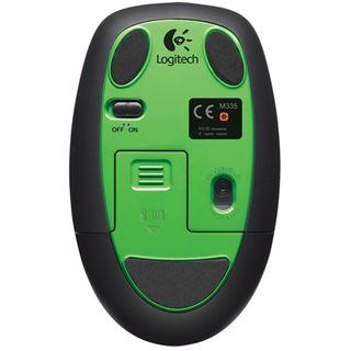 Logitech M345 USB schwarz/gruen (kabellos)