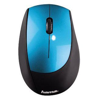 Hama M2150 USB schwarz/blau (kabellos)