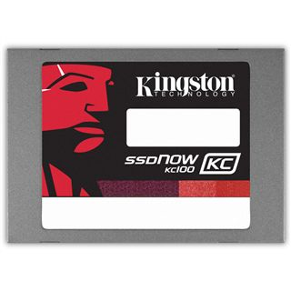 "240GB Kingston SSDNow KC100 2.5"" (6.4cm) SATA 6Gb/s MLC asynchron (SKC100S3B/240G)"