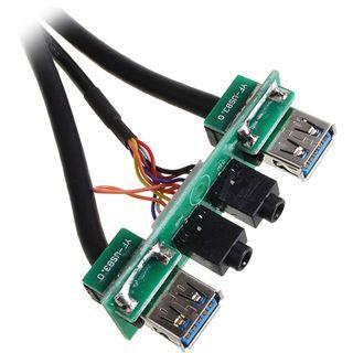 Xigmatek USB 3.0/Audio Erweiterung für Asgard (COU-ABCFNC-U01)