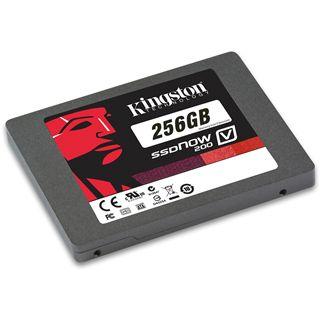 """256GB Kingston SSDNow V200 2.5"""" (6.4cm) SATA 6Gb/s MLC asynchron (SV200S3/256G)"""