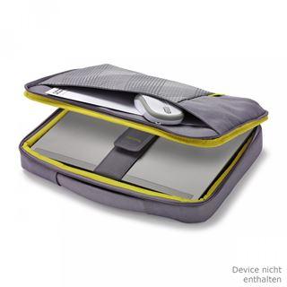 "DICOTA Bounce SlimCase für 10-11.6"" (25,4-29,46cm) Notebooks grün/blau"