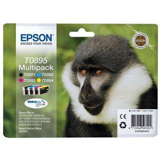 Epson Tinte C13T08954010 schwarz, cyan, magenta, gelb