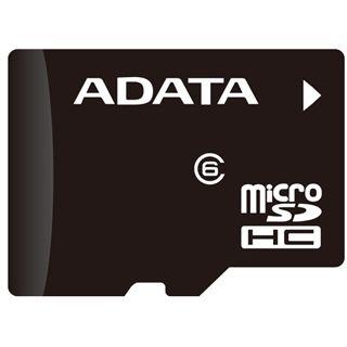 4 GB ADATA Turbo microSDHC Class 4 Retail inkl. Adapter