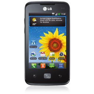 LG E510 Optimus Hub Black