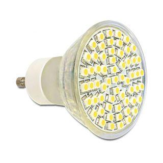 LED Delock LED Leuchtmittel GU10, 60 LED, warmweiß 4,5W dimmbar
