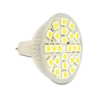 LED Delock LED Leuchtmittel MR16, 24 LED, warmweiß 3,5W