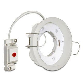Delock Lampenfassung GX53 Einbaufassung rund Typ G weiß