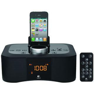 Logitech S400i Clock Radio Dock black CE