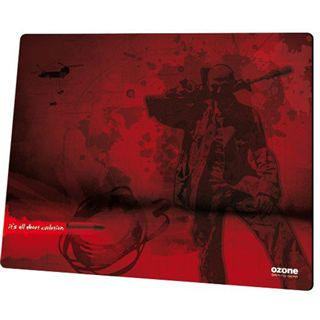 Ozone Shooter S 320 mm x 270 mm rot/schwarz