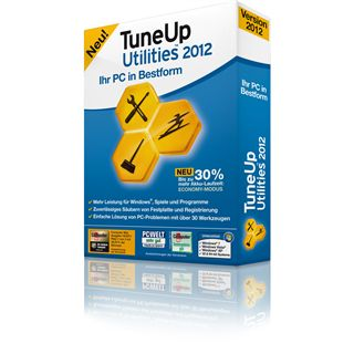 TuneUp Utilities 2012 3 User 32/64 Bit Deutsch Utilities Vollversion PC (CD)