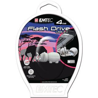 4 GB EMTEC Animals M323 Elephant grau USB 2.0