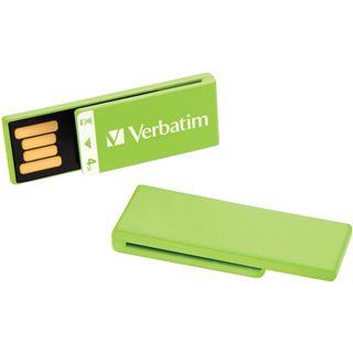 4 GB Verbatim Clip-it USB Drive gruen USB 2.0