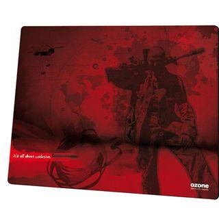 Ozone Shooter L 400 mm x 320 mm rot/schwarz