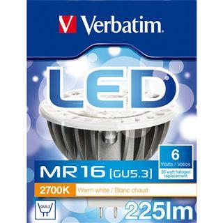 Verbatim LED MR16 6W Klar GU5.3 A