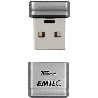 16 GB EMTEC S100 Micro silber USB 2.0