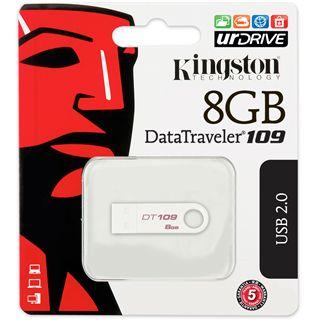 8 GB Kingston DataTraveler 109 weiss USB 2.0