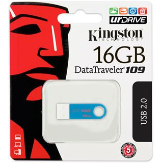 16 GB Kingston DataTraveler 109 blau USB 2.0