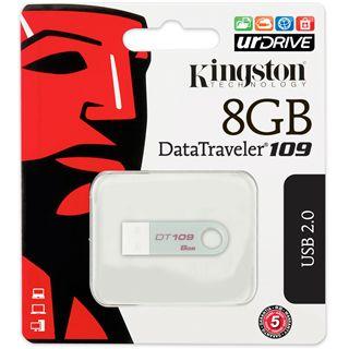 8 GB Kingston DataTraveler 109 silber USB 2.0