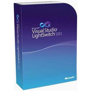 MS Microsoft Visual Studio LightSwitch 2011 [DE] DVD
