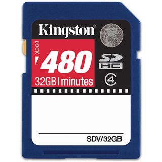 32 GB Kingston Video SDHC Class 4 Bulk
